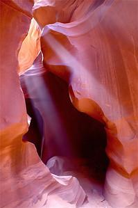 Sun Rays - Antelope Canyon