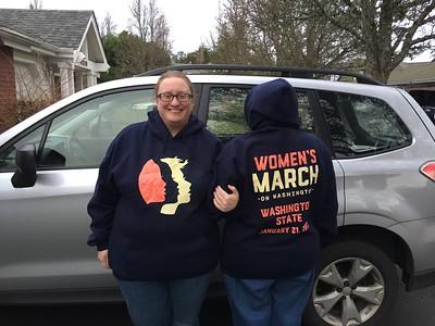 Women's March: WA State 1/21/2017