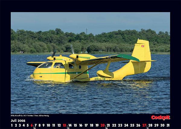 Cockpit Calendar – Jul 2008