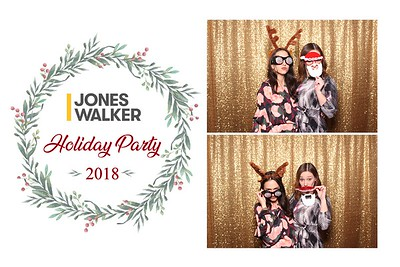 Jones Walker Holiday Party 2018 @ NOPSI Hotel