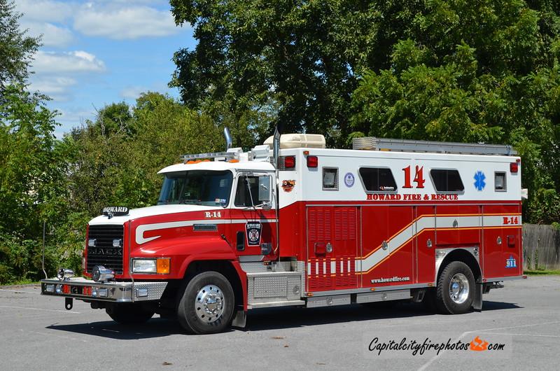 Howard Fire Co. (Centre Co.) Rescue 14: 1990 Mack/E-One (X-Fayetteville, PA)