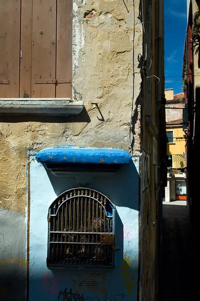 Venetian street, Castello quarter, Venice, Italy