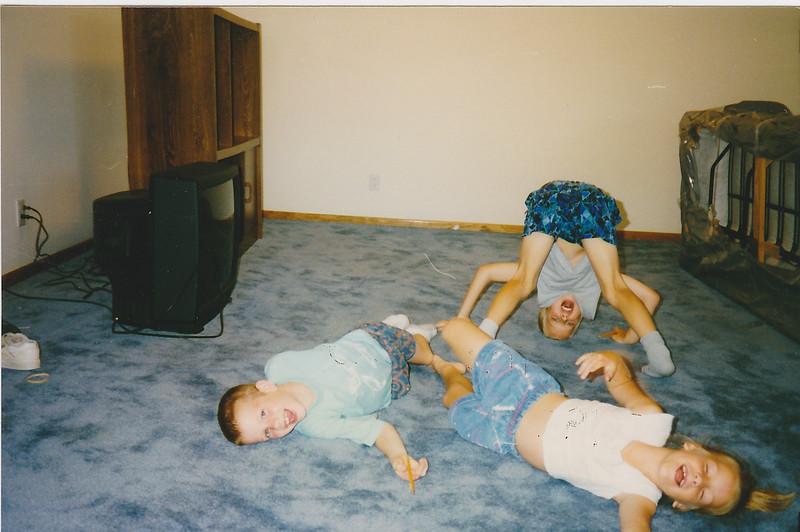 Matt, Michael, Margaret Elwer - July 1997