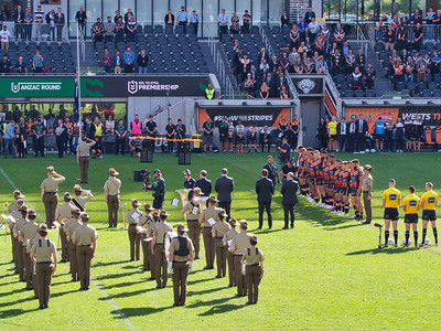 20210425 Wests Tigers Round 7 ANZAC Day