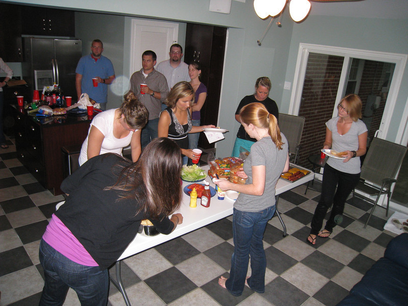 7/20/2009 - Softball post-season party