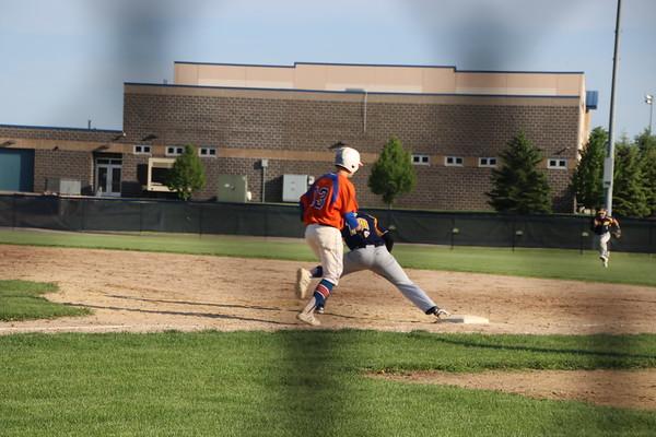varsity baseball v. eastland . ihsa sectional semi-final . 5.23.18