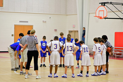 Sixth Grade Basketball vs. TFA, February 7, 2009