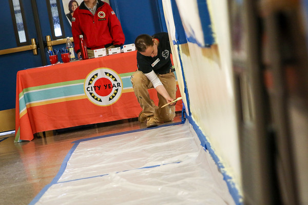 Wellington Management Service Event 2018 - City Year Boston
