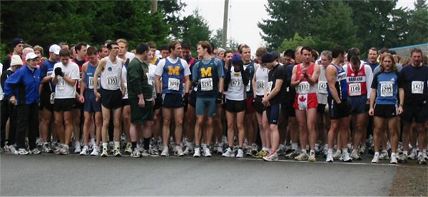 2003 Cedar 12K - The Starting Lineup