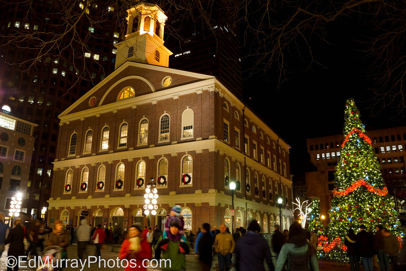Faneuil Hall: Boston's Faneuil Hall decked out for the holidays..   12/21/12