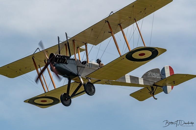 Royal Aircraft Factory BE2e A2943
