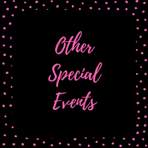 Other Special Events