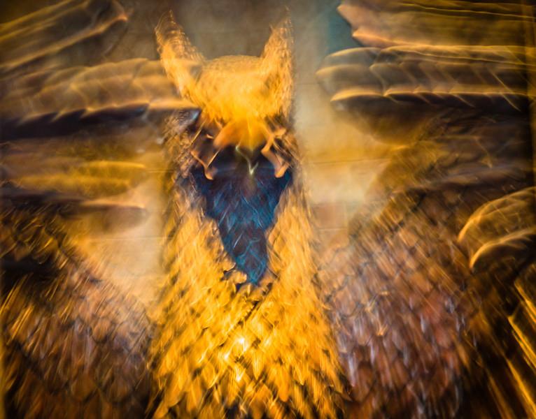 Harry Potter ride entrance-camera shake effect