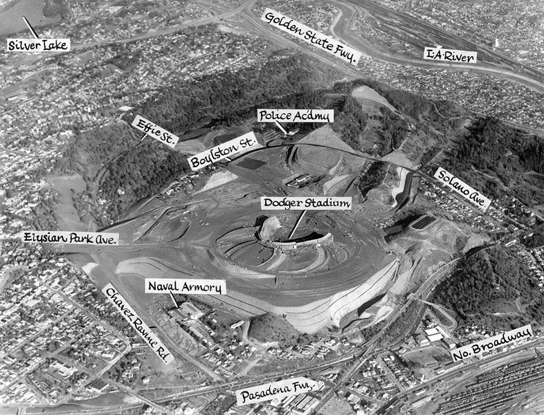 1962, Dodger Stadium Area Aerial