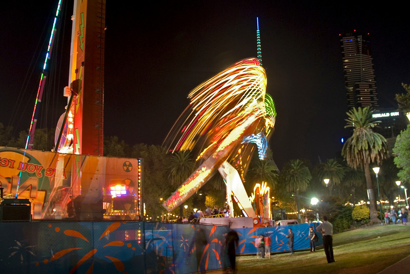 Carnival Night Shot 1 - Melbourne, Victoria, Australia