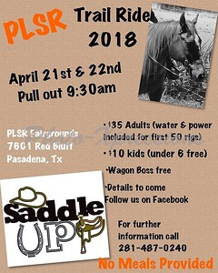1st annual PLS&R Trail Ride