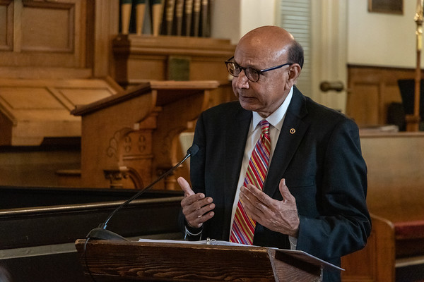 Khizr Khan Talk - Walter W. Craigie Speaker Series