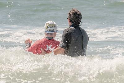 Devin Surfing Long Beach 7-20-18