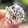 3.86ct Old European Cut Diamond GIA K VS2 11