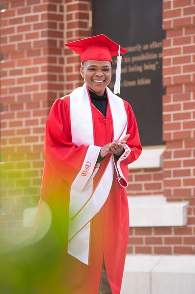20201219 Courtney Sutton Graduation Cap Gown Ed
