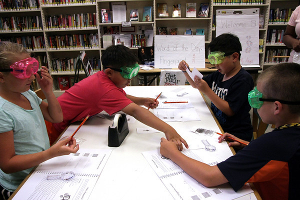 Science in Summer, Ambler Library