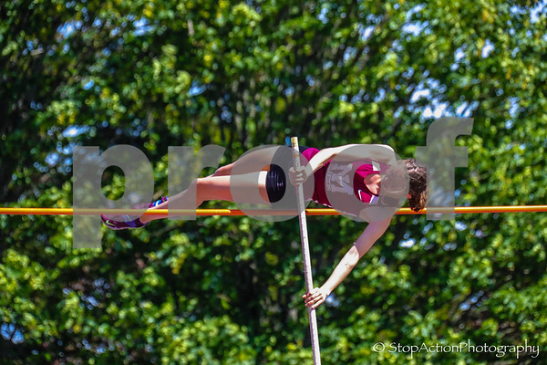 2019-05-17 Sea-King District Track and Field Finals - 3A Girls