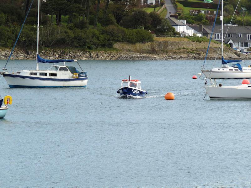 The Huge Helford Ferry