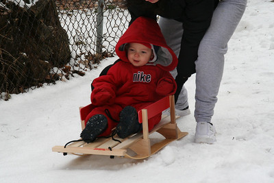 My First Time Sleigh Riding (1/20/2008)