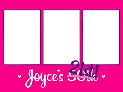 Joyce's 50th 28.2.19