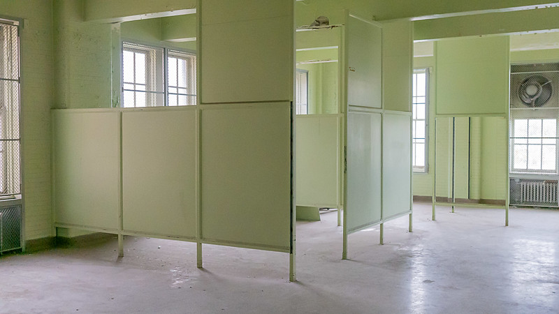 Office Cubicles in Ward Room