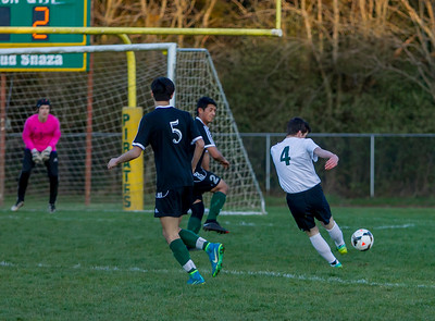 Set four: Vashon Island High School Boys Varsity Soccer v Klahowya