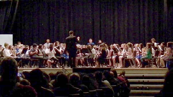 Sam's 6th Grade Winter Band Concert