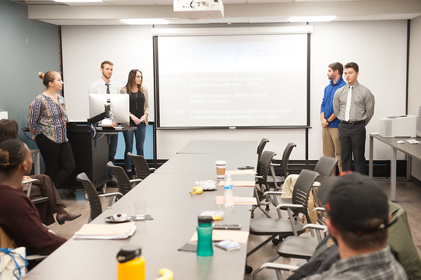 11/16/18 Student Presentations During Communication Department Fall Forum