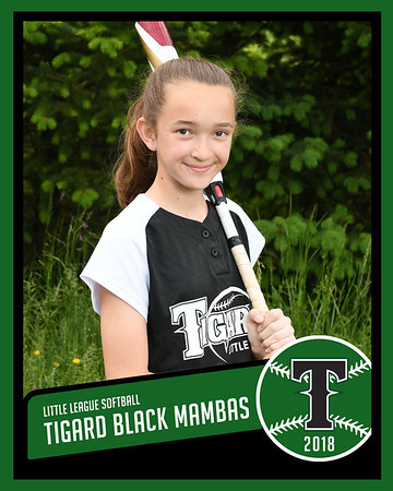 2018 Black Mambas - Majors