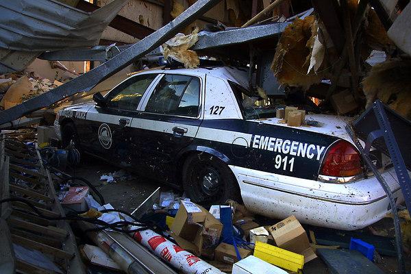 Americus, Georgia Tornado Damage