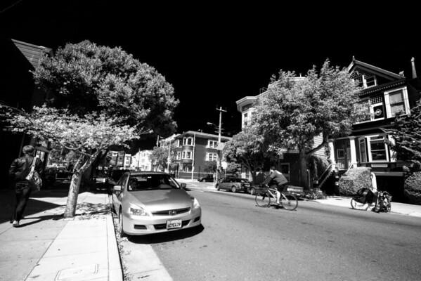 San Francisco in Infrared