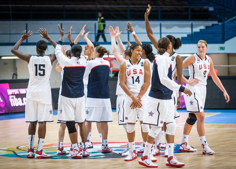 (FIBA World Championship for Women: Preliminary Round, USA 108 v. Senegal 52, Čez Aréna, Ostrava, Czech Republic. September 24, 2010)