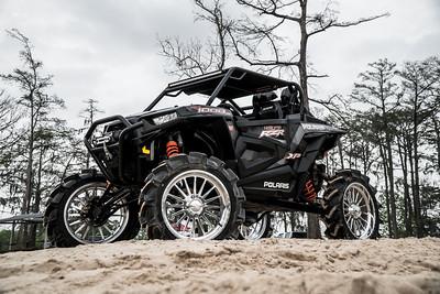 @Mister_BGAS-2018-Black-Polaris -RZR Highlifter 1000-22 inch-Alpines-35 inch-EFX MotoHavok Tires-AC