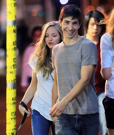 2013-09-03 - Amanda Seyfried and Justin Long