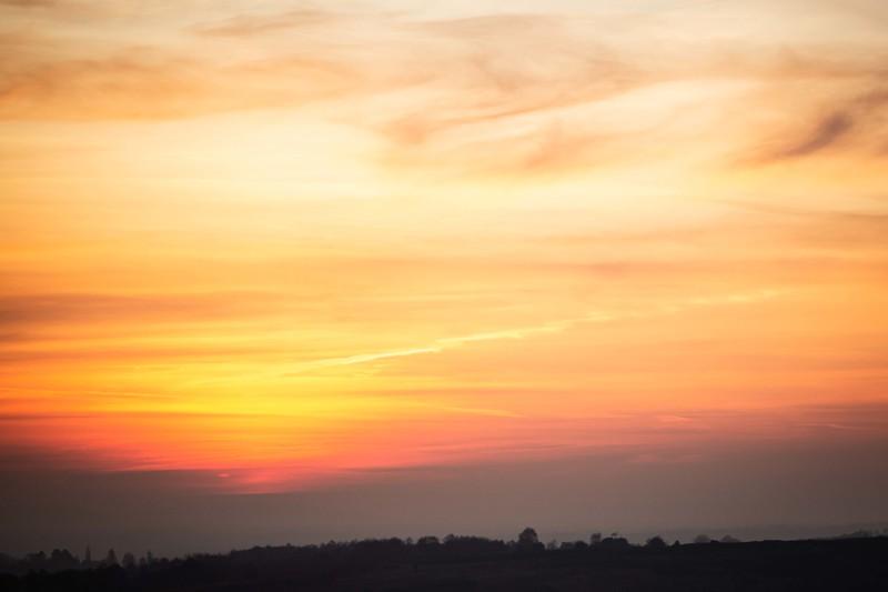 2019 - Ashdown Forest sunset 011