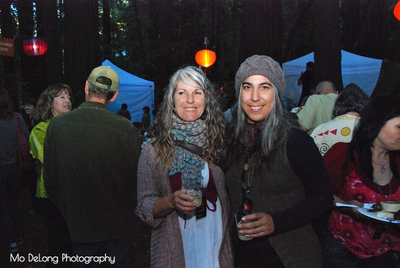 Linda Fahey and Erika Peterson