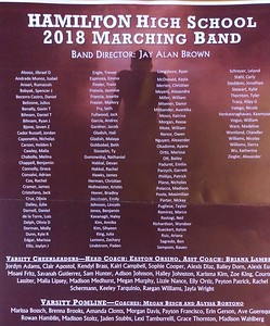 2018 Marching Band