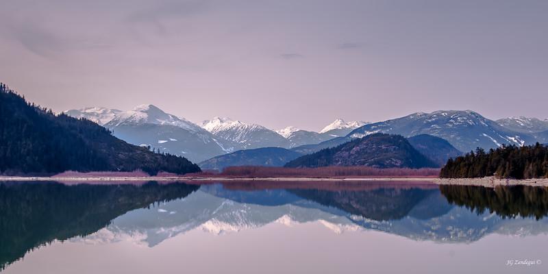 Lillooet Lake Reflections