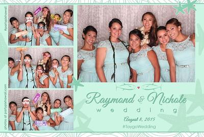 Nichole & Raymond's Wedding (LED Open Air Photo Booth)