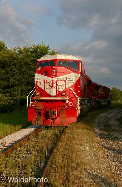 Indiana Railroad, near Indianapolis, Indiana 2009.