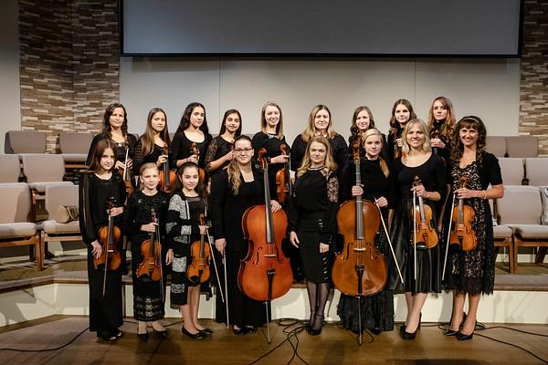 October 14, 2018  String Ensemble