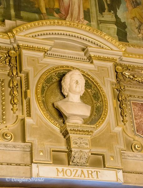 Mozart bust, Vienna Opera