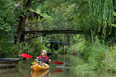 France: the Marais Poitevin marches by kayak.