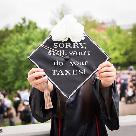 Hannah FINALLY Graduates