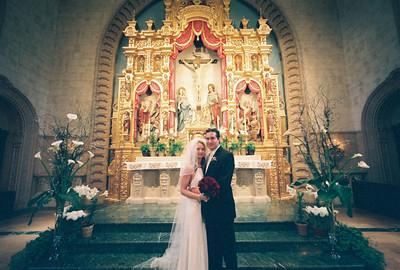Fitzgerald Wedding - USD Founder's Chapel